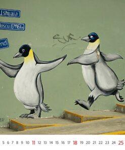 Muurkalender Street Art 2021 Juli