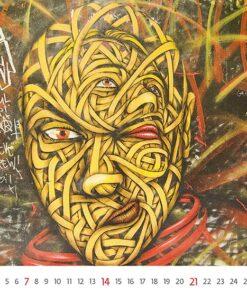 Muurkalender Street Art 2021 November
