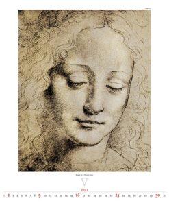 Kunstkalender Leonardo da Vinci 2021 Mei