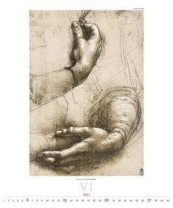 Kunstkalender Leonardo da Vinci 2021 Juni
