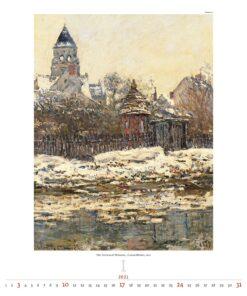 Kunstkalender Impressionism 2021 Januari
