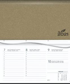 Agenda Novoplan gebonden Beige 2021