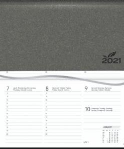 Agenda Novoplan gebonden grijs 2021