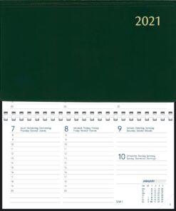 Agenda Novoplan spiraal groen 2021