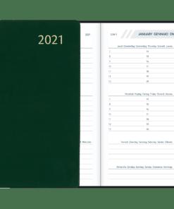 Agenda Visuplan gebonden Groen 2021