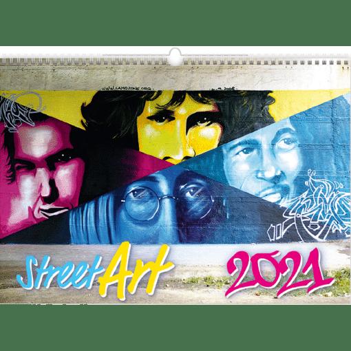 Muurkalender Street Art 2021