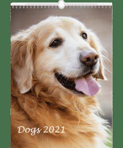 Muurkalender Dogs 2021