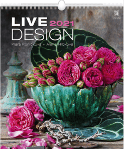 Muurkalender Live Design 2021