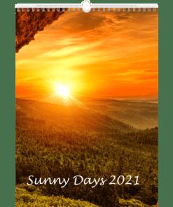 Muurkalender Sunny Days 2021