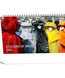 Kantoorkalender Colours of Travel 2021