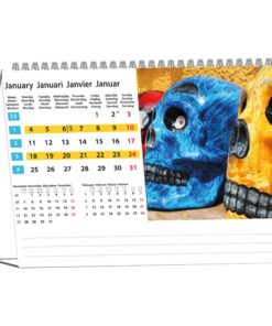 Kantoorkalender Colours of Travel 2021 Januari