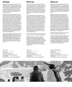WWF kalender Wildlife 2021 Januari (achterkant)