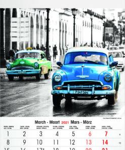 Muurkalender Typics 2021 Maart