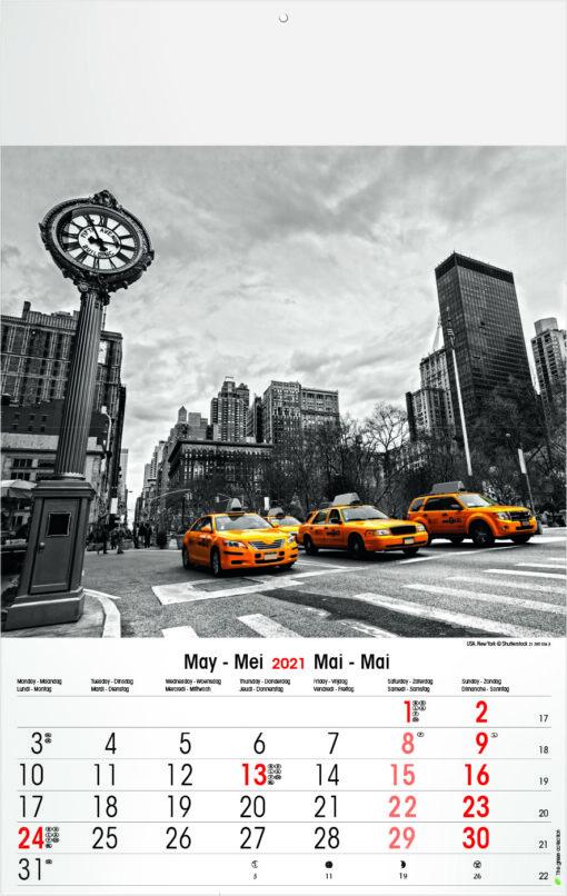 Muurkalender Typics 2021 Mei