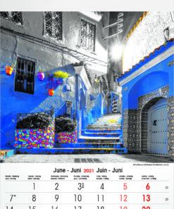 Muurkalender Typics 2021 Juni