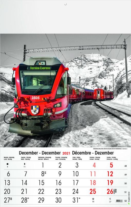 Muurkalender Typics 2021 December