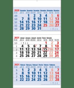 3 maand Maxi blauw 2021