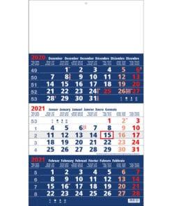 3 maandkalender focus 2021