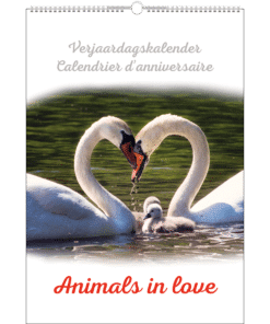 Verjaardagskalender 'Animals in Love'