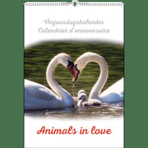 Verjaardagskalender 'Animals in Love'