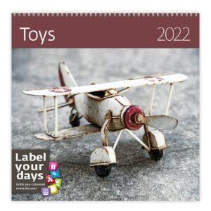 Muurkalender Toys 2022