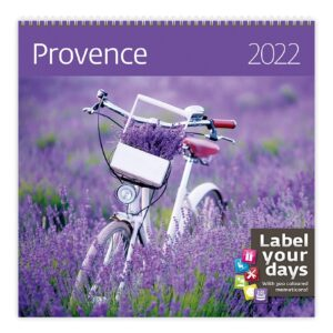 Muurkalender Provence 2022