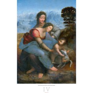Kunstkalender Leonardo da Vinci 2022 April