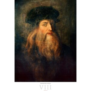 Kunstkalender Leonardo da Vinci 2022 Augustus