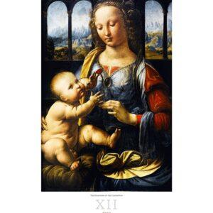 Kunstkalender Leonardo da Vinci 2022 December