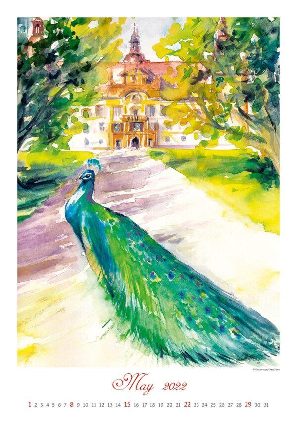 Kunstkalender Aquarelle 2022 Mei