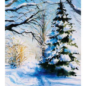 Kunstkalender Aquarelle 2022 December