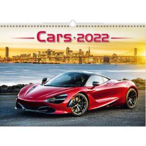 Muurkalender Cars 2022