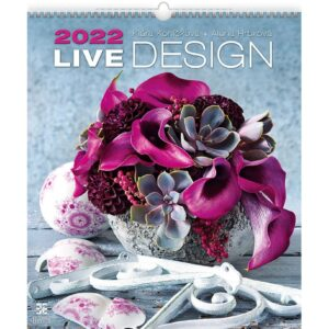 Muurkalender Live Design 2022