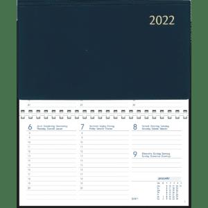 Novoplan spiraal 2022 Blauw