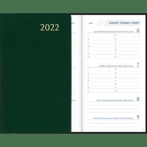 Visuplan gebonden 2022 Groen