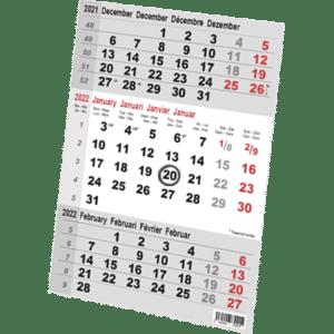 Kalendersetje voor Steel en Color 2022