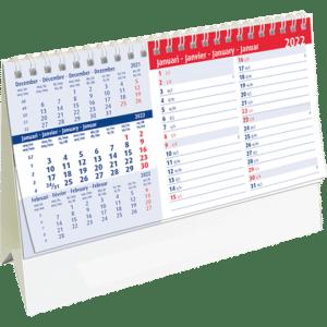 Kantoorkalender Belgium Memo 2022