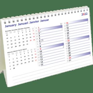 Kantoorkalender International Memo 2022