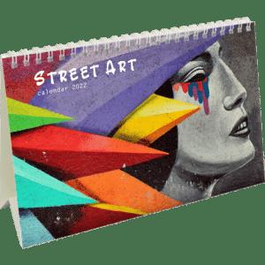 Kantoorkalender Street Art 2022