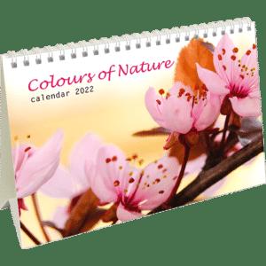 Kantoorkalender Colours of Nature 2022
