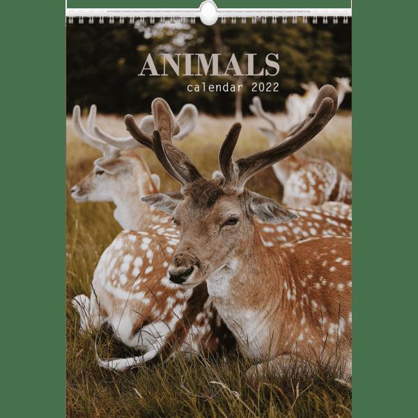 Muurkalender Animals 2022