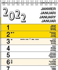 Strookkalenders